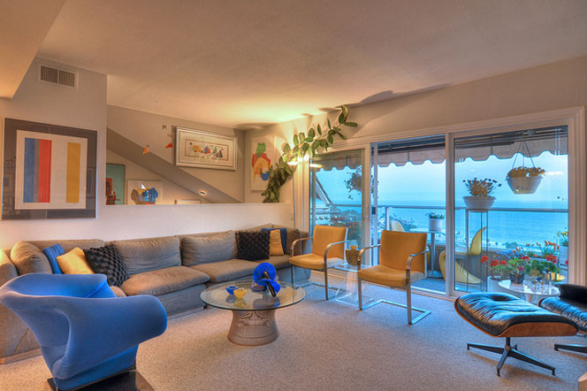 21745 Ocean Vista Dr 12 | Laguna Ocean Vista Condo Living Room View