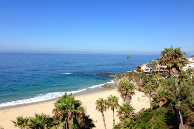 Coast Hwy Ocean Front Views in Laguna Beach, California