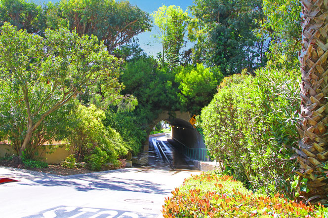 Emerald Bay Tunnel In Laguna Beach | Laguna Beach Real Estate
