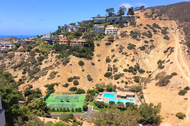 Emerald Bay community in Laguna Beach, California