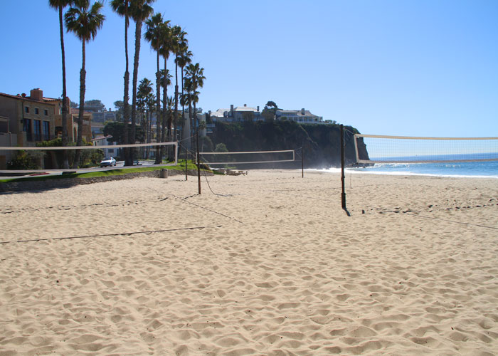 Emerald Bay Volleyball | Emerald Bay Laguna Beach Real Estate