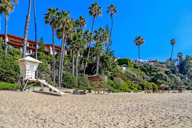 Irvine Cove Private Beach in Laguna Beach, California