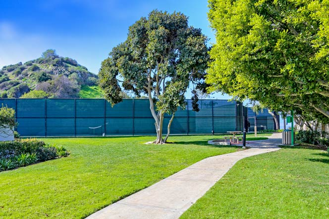 Irvine Cove Community Tennis Courts in Laguna Beach, California