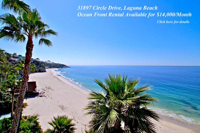 Laguna Beach Ocean Front Rental Homes | Laguna Beach Real Estate