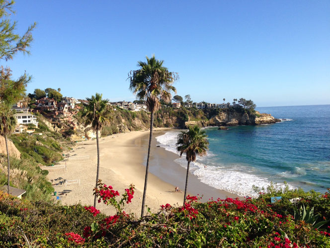 Image of Oceanfront Homes in the Three Arch Bay community in Laguna Beach, California