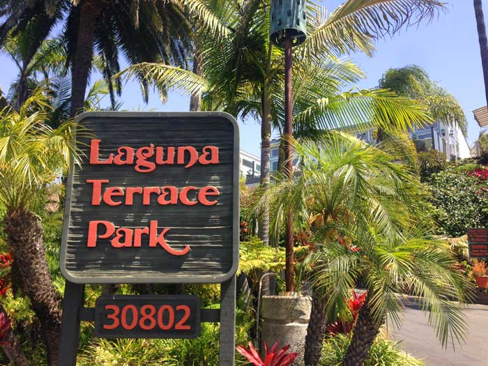 Laguna Terrace Park Community in Laguna Beach, California