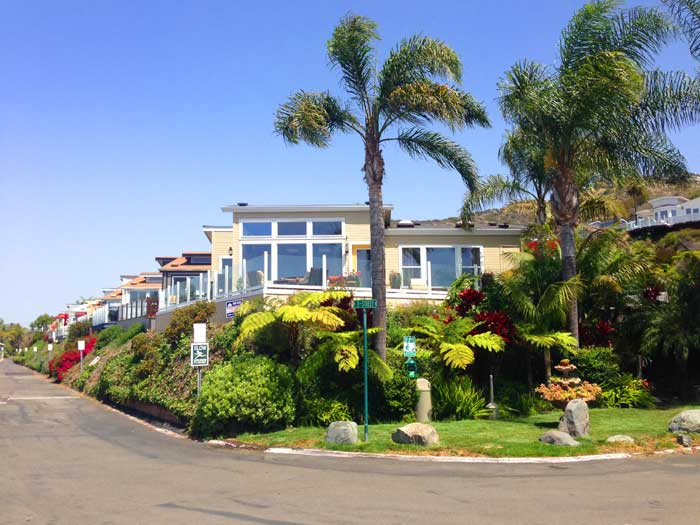 Laguna Terrace Park Homes in Laguna Beach, California
