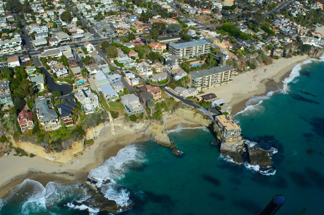 Seacliff Drive Ocean View Homes In Laguna Beach, California