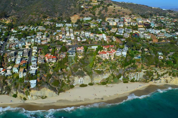 South Laguna Cliff Front Properties in Laguna Beach, CA