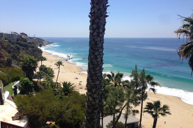 South Laguna Coastline in Laguna Beach, California