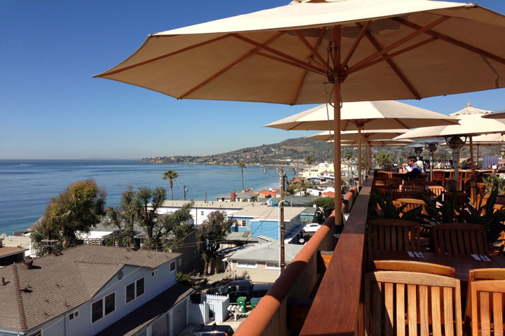 The Rooftop Lounge in Laguna Beach, California