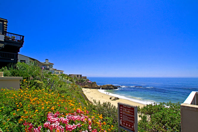 Ocean View Condos For Sale Near Moss Point In Laguna Beach Ca