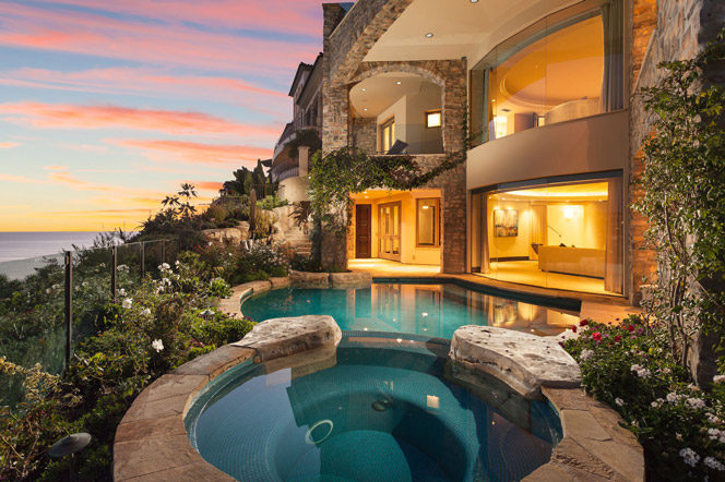 Emerald Bay Laguna Beach Oceanfront Home