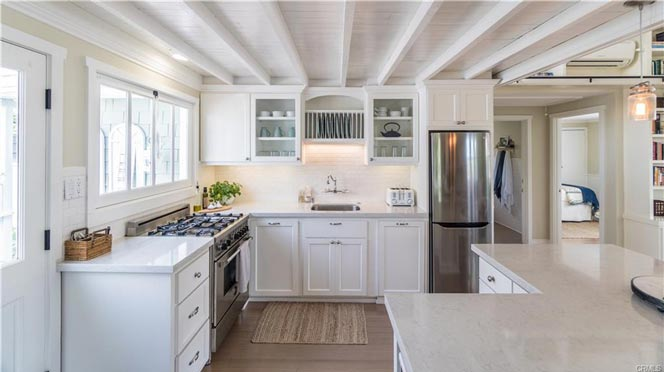 Laguna Beach Mermaid House Kitchen