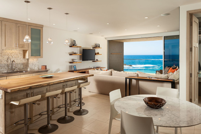 Laguna Lido Kitchen with Ocean Views