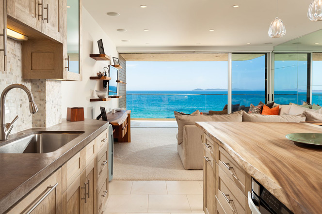Laguna Lido Ocean View Kitchen